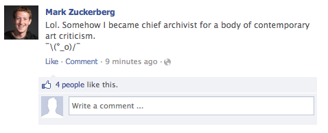 The Accidental Archivist: Criticism on Facebook, and How to Preserve It