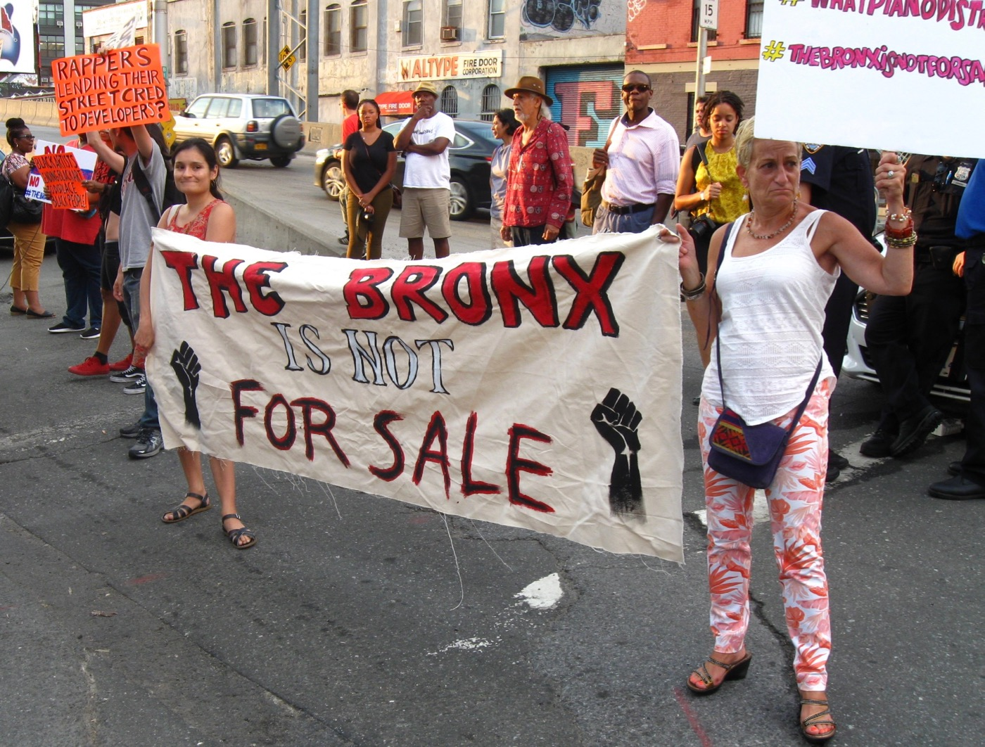 Activists Protest Swizz Beatz's Art Fair in the Bronx